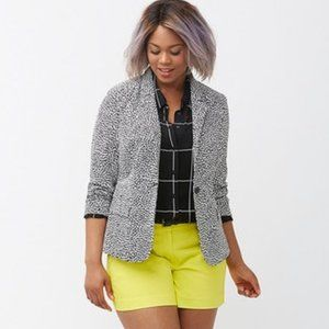 Lane Bryant Modernist Collection Blazer Jacket 16